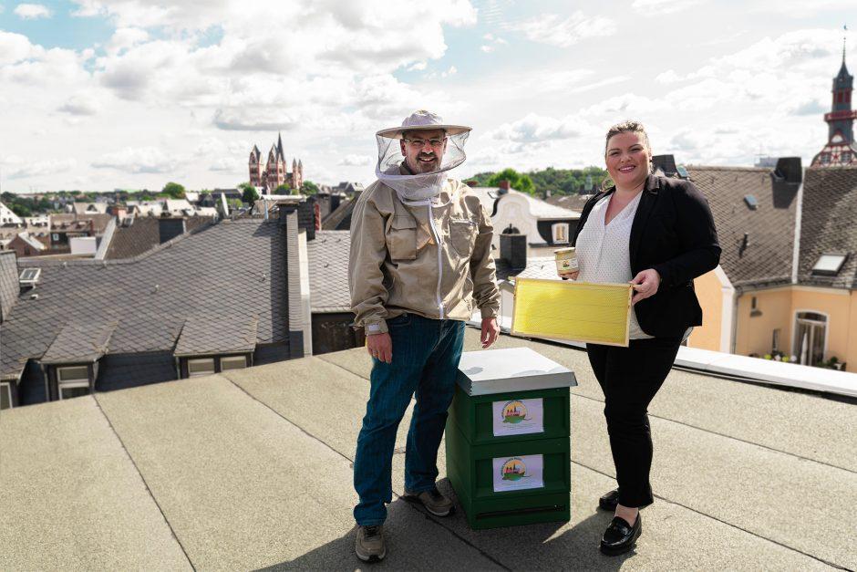 Limburger Kreissparkassen-Bienen