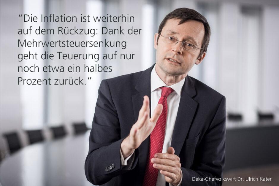 Kolumne Dr. Ulrich Kater, Chefvolkswirt der DekaBank: Europäischer Fortschritt