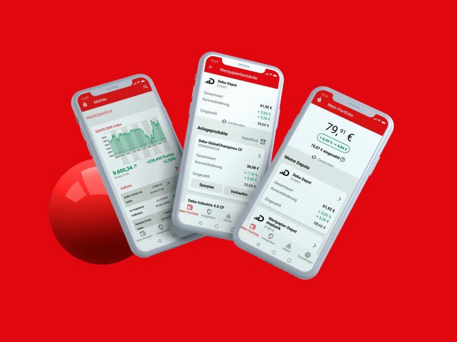 S-Invest App: Wertpapiere und Börse einfach in die Tasche stecken