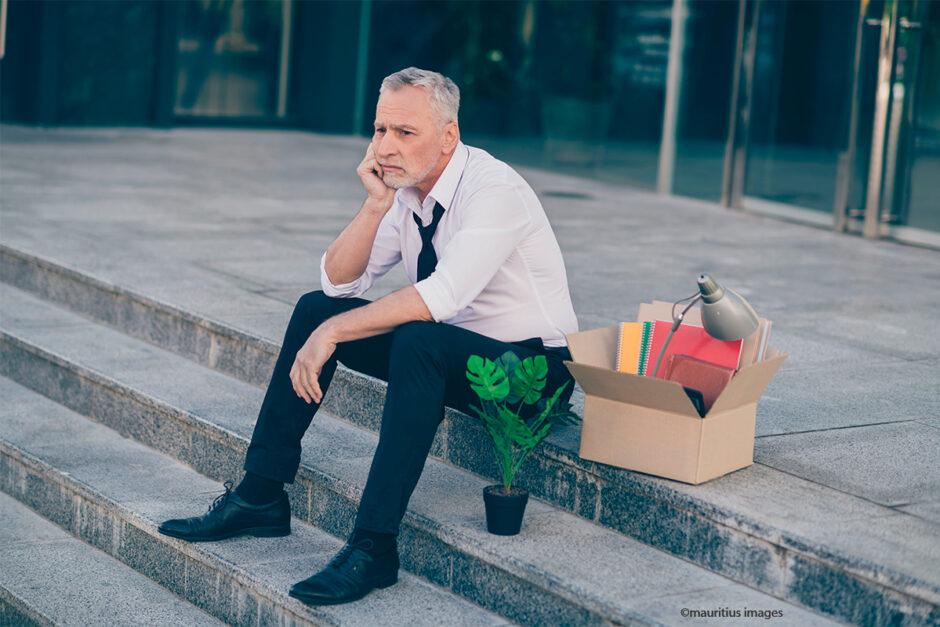 Arbeitslos kurz vor der Rente